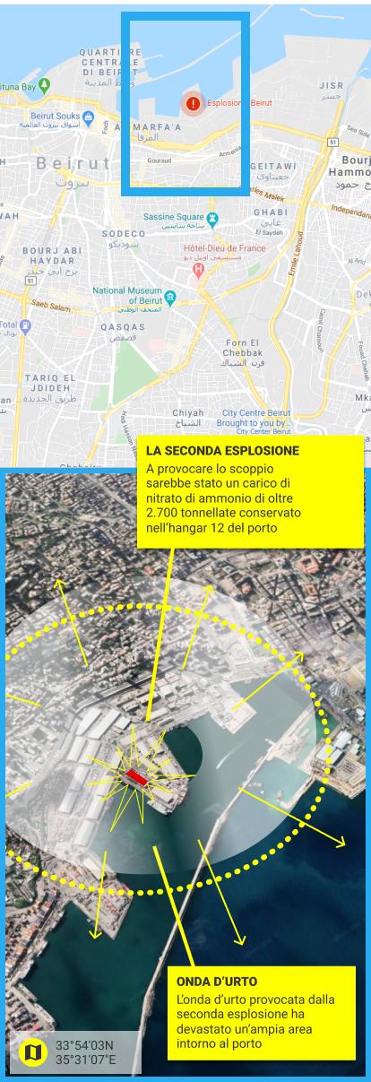 Cartina Del Libano.Esplosioni A Beirut La Mappa Degli Scoppi Che Hanno Devastato La Citta Corriere It