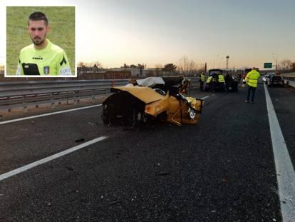Incidente sulla Torino-Aosta: muore il giovane arbitro  Loris Azzaro