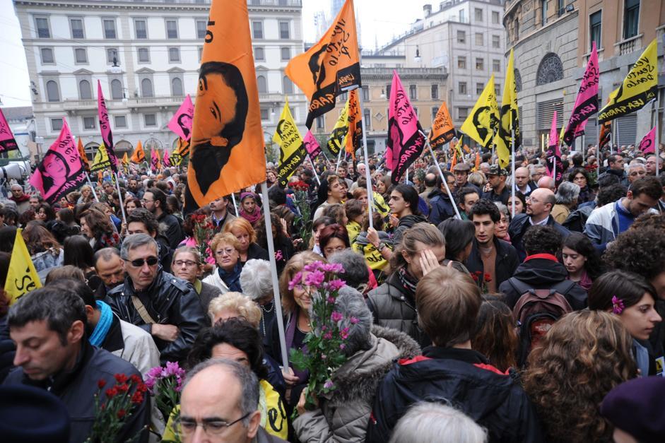 Lea Garofalo, funerali in piazza a Milano