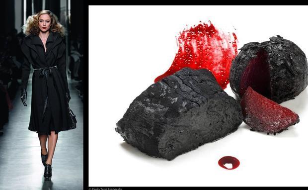 Massimo Bottura  e il modello di Bottega Veneta