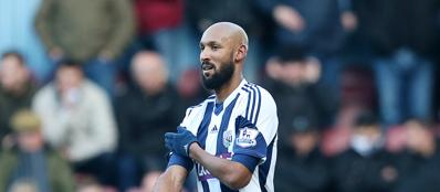 Anelka e la «quenelle» in campo (Action Images/Paul Childs)