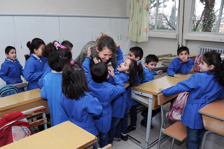 Siria, Asma Assad riappare in pubblico