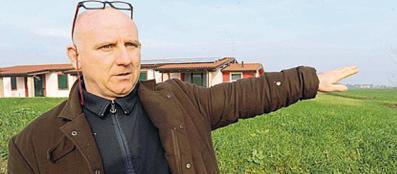 L'imprenditore agricolo Giovanni Leoni, 52 anni (Cavicchi)