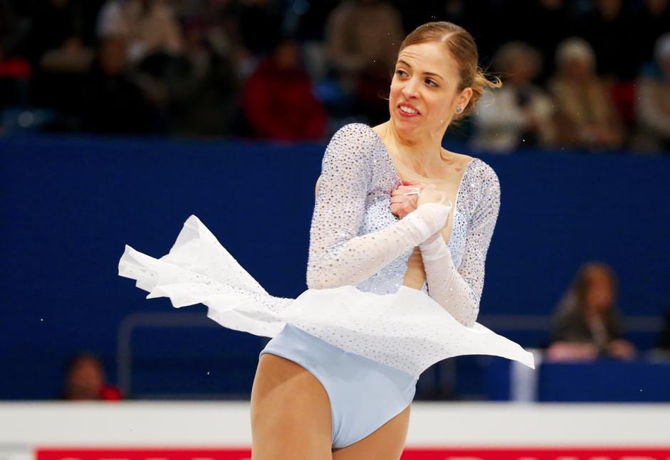 Carolina Kostner incanta il pubblico a Budapest e conquista la medaglia di bronzo