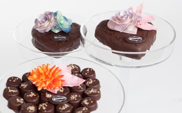 La torta a cuoricino con pannae tanto cioccolato: ve la spiegala pasticceria Sartori