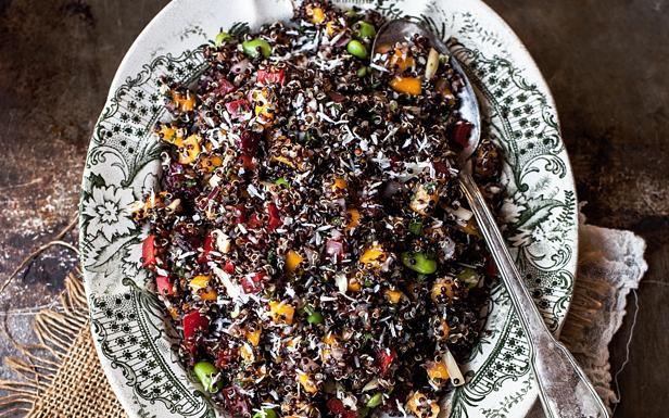 Un'immagine dell'insalata di Quinoa di Sara Ghedina