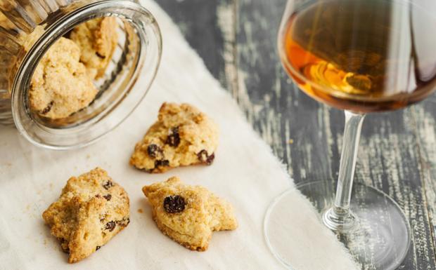 Foto dei biscotti al vino passito (proprietà di Vegolosi.it)