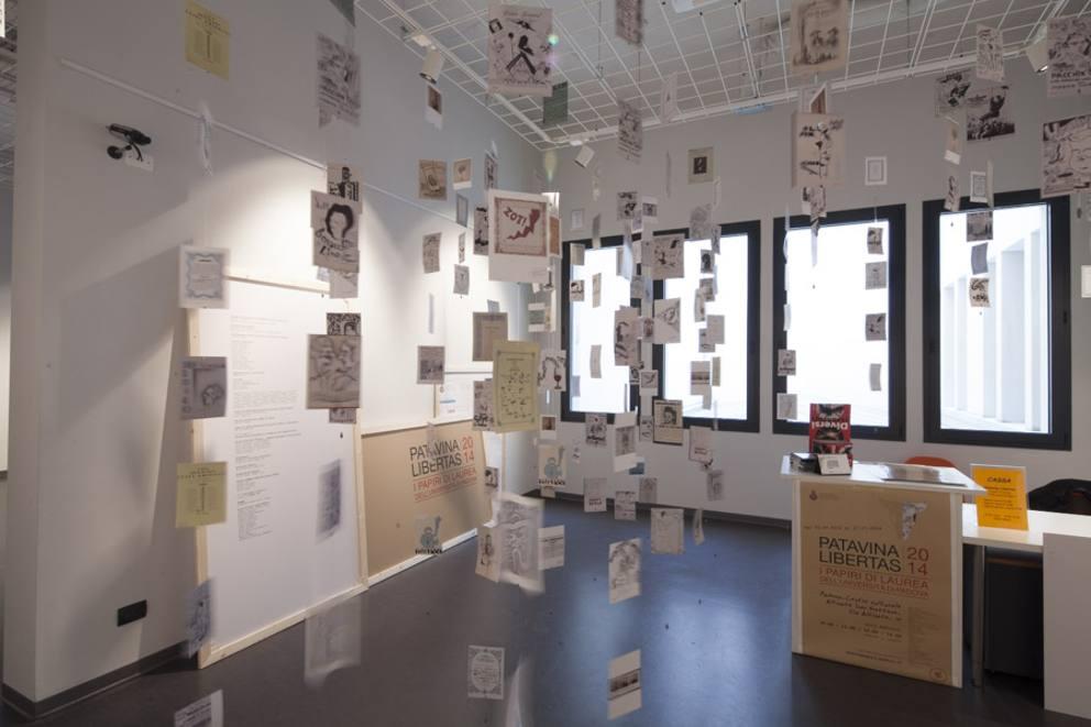 """... che insieme all Università di Padova e al gruppo Icat ha promosso e  organizzato la mostra """"Patavina libertas. I papiri di laurea dell università  ... 07b9f9f7b015"""