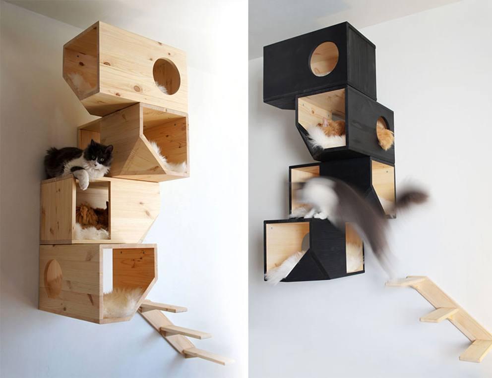 Mobili Per Gatti Fai Da Te : I mobili più incredibili pensati apposta per i gatti corriere