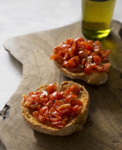 Frise ai pomodorini confit