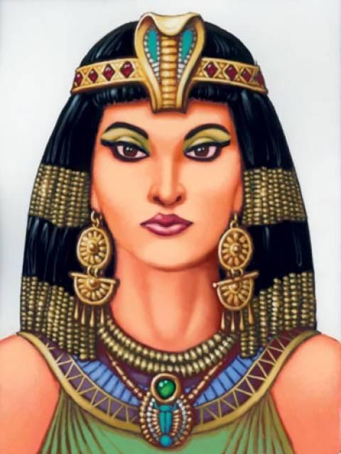 L\\u0027ultima regina del Regno tolemaico d\\u0027Egitto foggia un trucco  raffinatissimo tutto basato sul gioco di luci e ombre