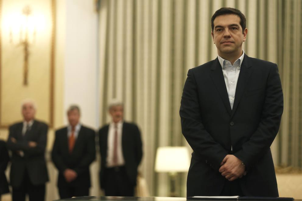 left wing leader alexis tsipras - HD2048×1365