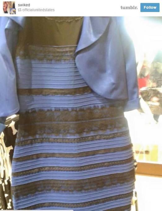 ae434c243bb3 Il vestito bianco e oro o blu e nero  La risposta al tomentone ...