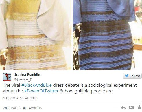 7cd37c4e51e0 Il vestito bianco e oro o blu e nero  La risposta al tomentone ...