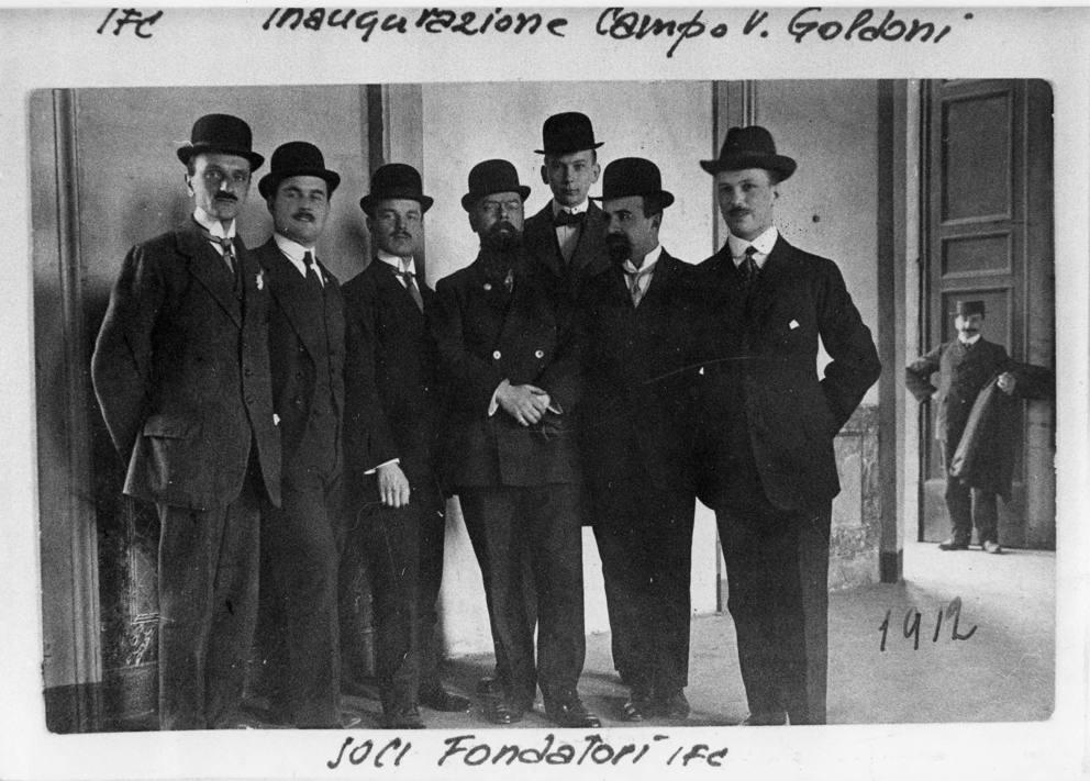 Image result for l'inter e nata nel 1908