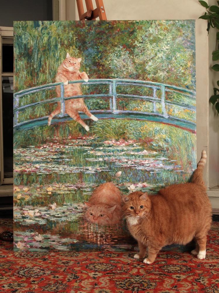 Zarathustra Il Gatto Rosso E Grasso Nei Quadri Più Belli Della
