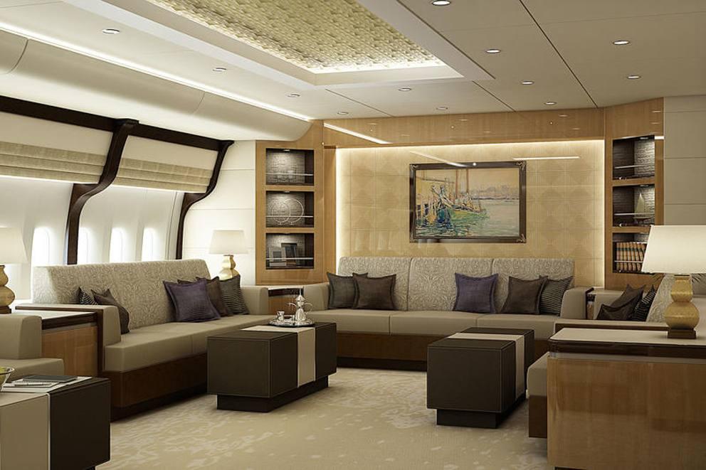 Ristorante, camere da letto e soggiorno: ecco il Boeing extralusso ...