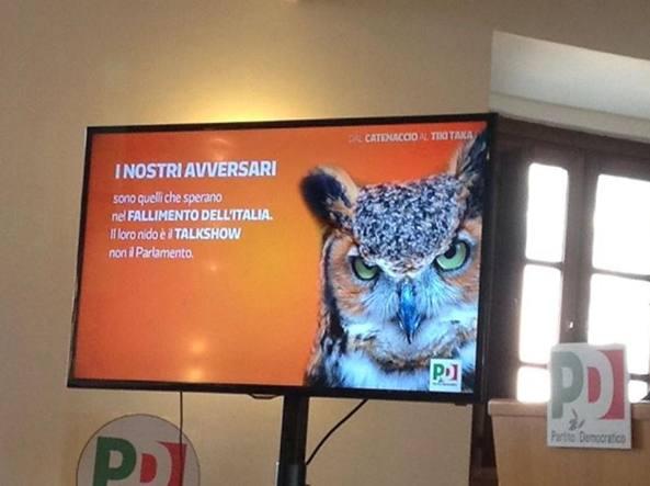 Il pd scarso nella comunicazione tv e renzi fa il coach for Elenco senatori italiani