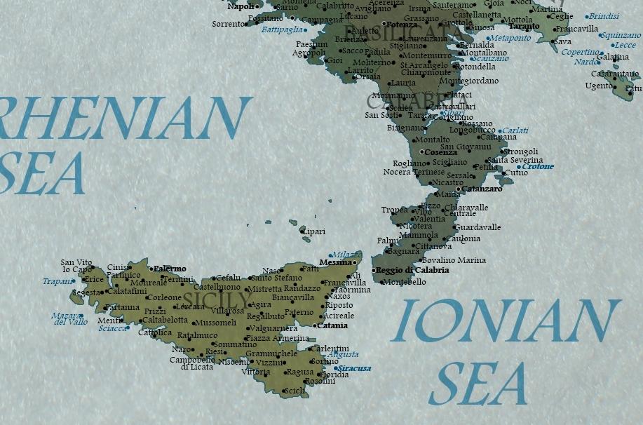 La mappa dell italia nel 2100 for Dove si trova la camera dei deputati