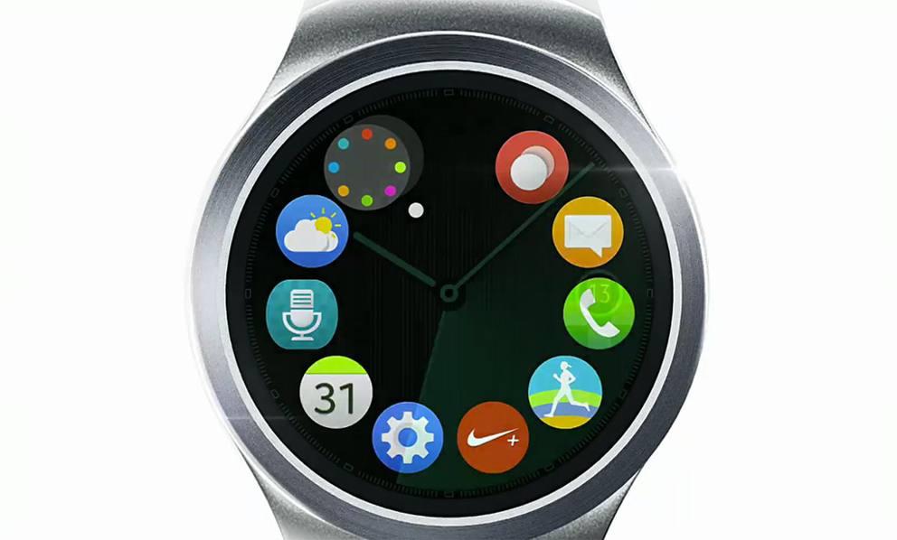 taglia 40 38aaa f1a45 Non solo smartphone, ecco Gear S2, primo orologio tondo ...