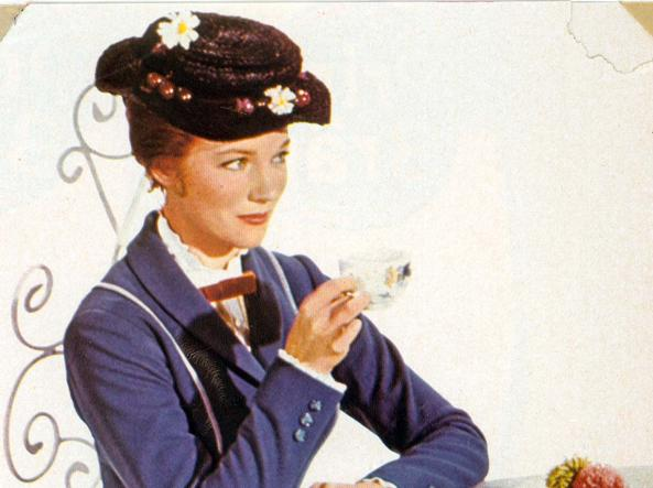 "Julie Andrews in ""Mary Poppins"" (archivio)"