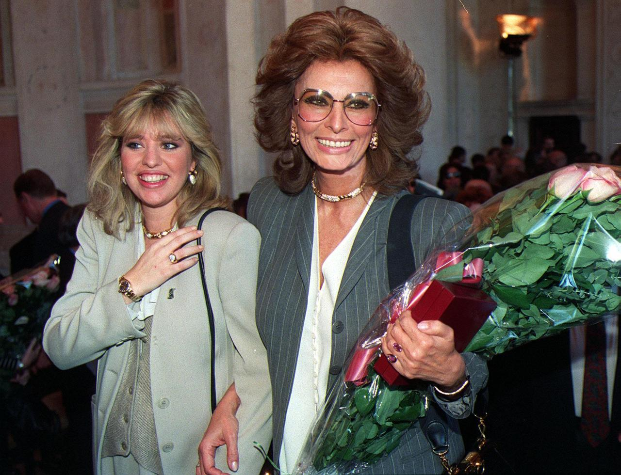 Tanti Auguri Sophia Loren I Primi 84 Anni Di Un Icona Del Cinema Italiano Corriere It