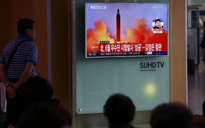 Risultati immagini per Corea del Nord, nuclear test