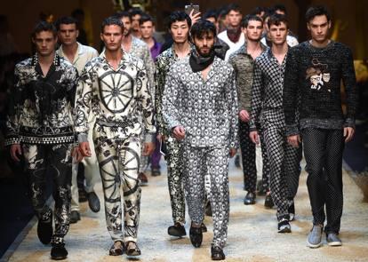 C era una volta il West (siciliano) di Dolce   Gabbana - Corriere.it a4a43bdb745