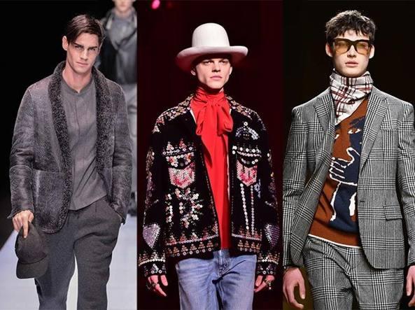 Giacca Da Camera Uomo Milano : Uomo 3.0: maglia a pelle vestaglia e giacca che scopre il lato «b