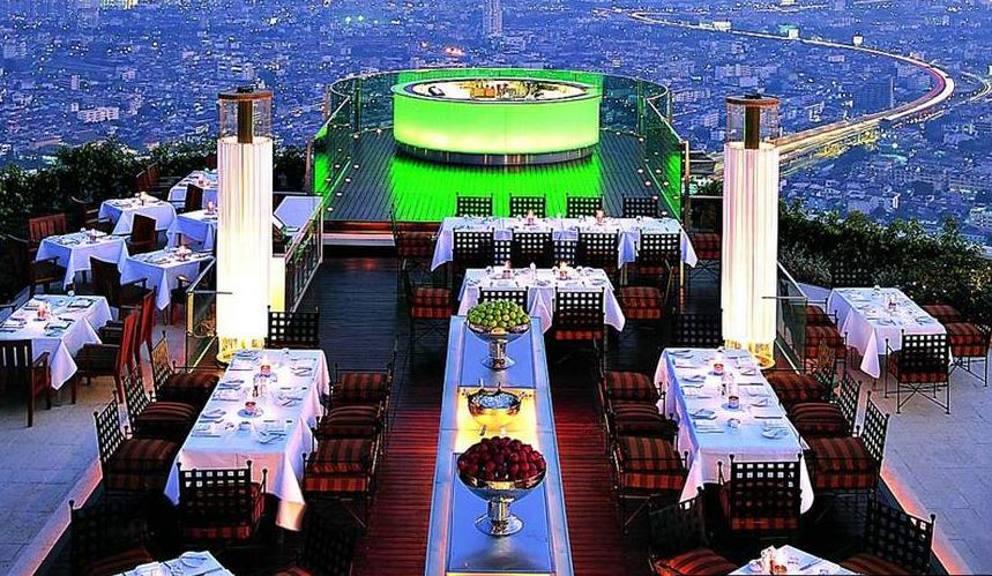 A cena sul tetto del mondo: I ristoranti con vista mozzafiato ...