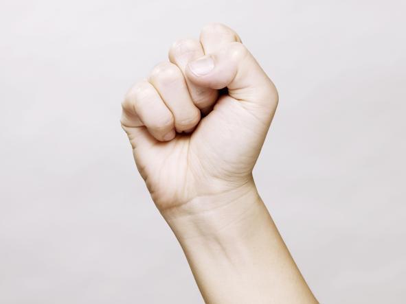 Картинки кулак женский