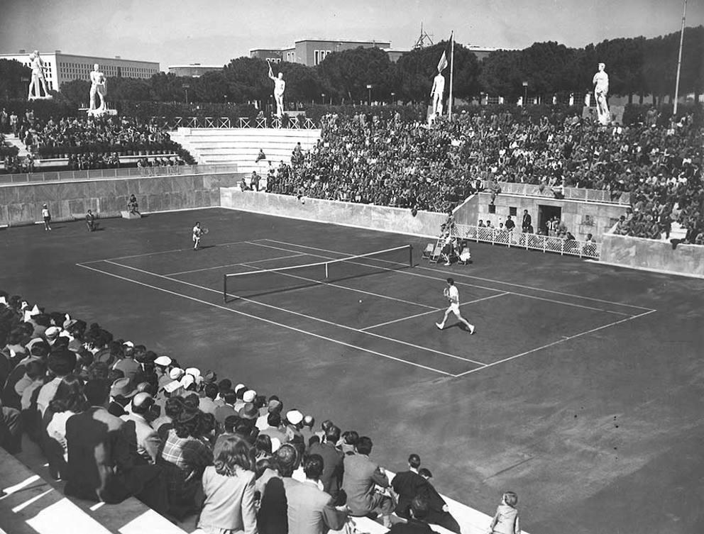 Campi Da Tennis Roma.Internazionali Di Tennis Quando A Roma Si Sfidavano Adriano Panatta
