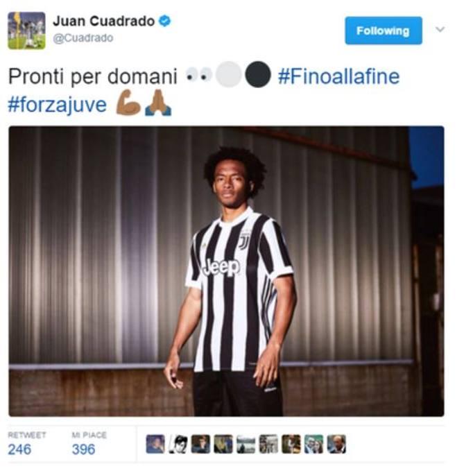 a8182243f Juventus ecco la nuova maglia 2017-2018: svelata da una gaffe di Cuadrado -  Corriere.it