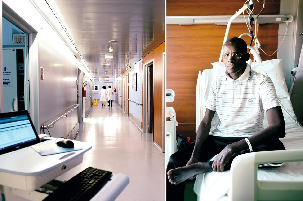 Sala Parto Ospedale Papa Giovanni Xxiii Bergamo : Prosegue il ponte di solidarieta bergamo gulu infermiera