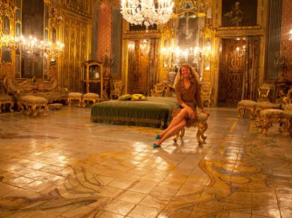 La principessa basta ora vendo il palazzo dove si gir for Planimetrie del palazzo con sala da ballo