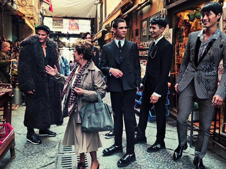 0226de0f92518 Franco Paggetti, il fotografo di guerra racconta Napoli. Per Dolce e Gabbana  - Corriere.it