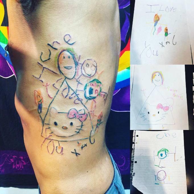 Tatuaggi Dedicati Ai Figli Il Ricordo Più Tenero Per Mamma E Papà