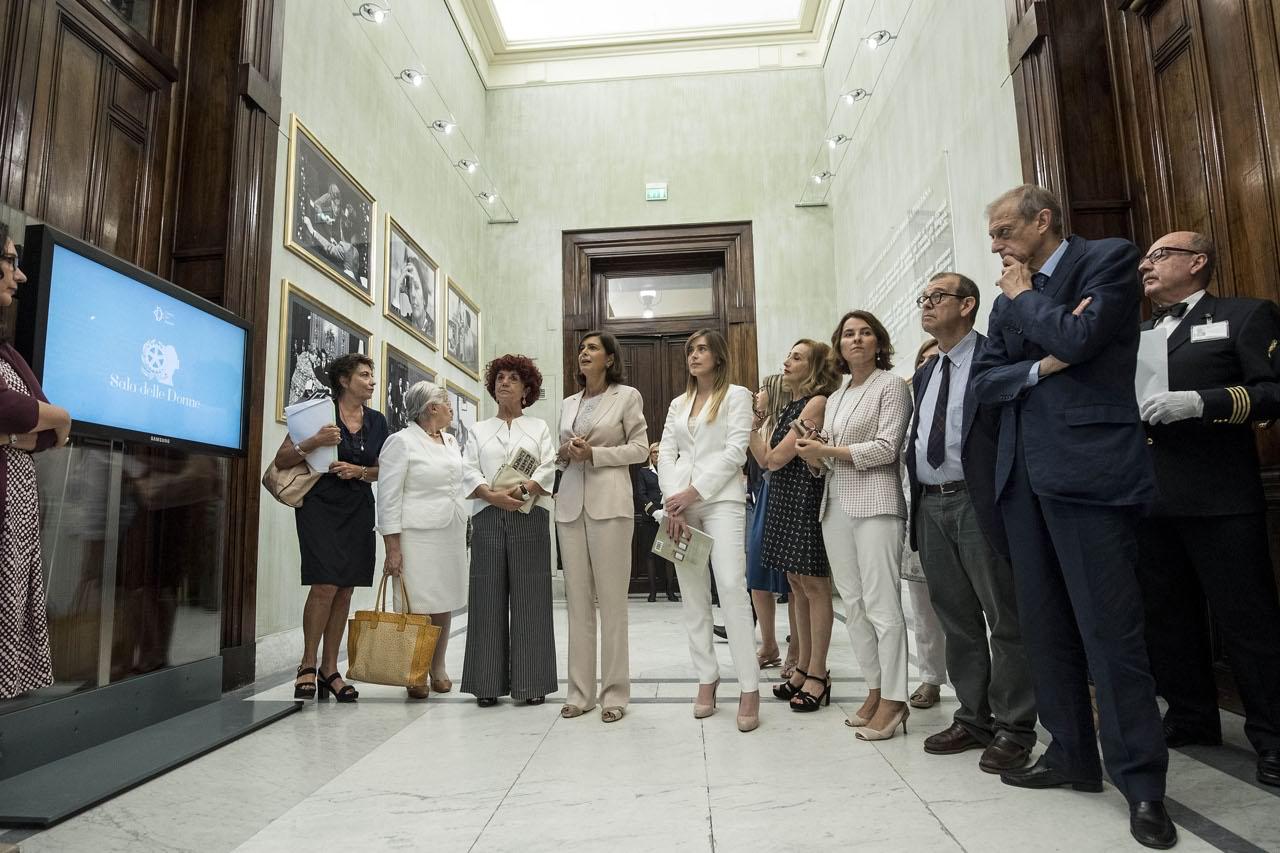 Montecitorio inaugurata la sala dedicata alle donne della for Nomi delle donne della politica italiana