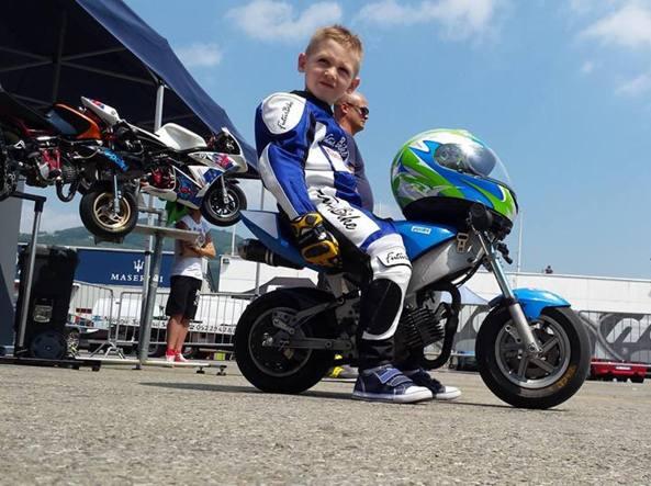 new concept 1535a d50fb Vi spiego perché ho messo mio figlio sulla minimoto ...