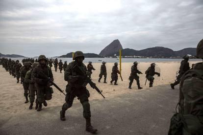 Esercito a Rio de Janeiro