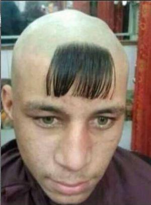 Tagli di capelli piu strani