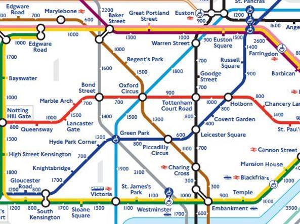 Metropolitana Di Londra Cartina.Londra La Nuova Mappa Ecologista Della Metro Invita Ad Andare A Piedi Corriere It