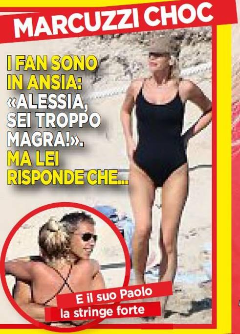 Alessia Marcuzzi Backstage Calendario.Alessia Marcuzzi Tra Moda Viaggi E Social Network Corriere It