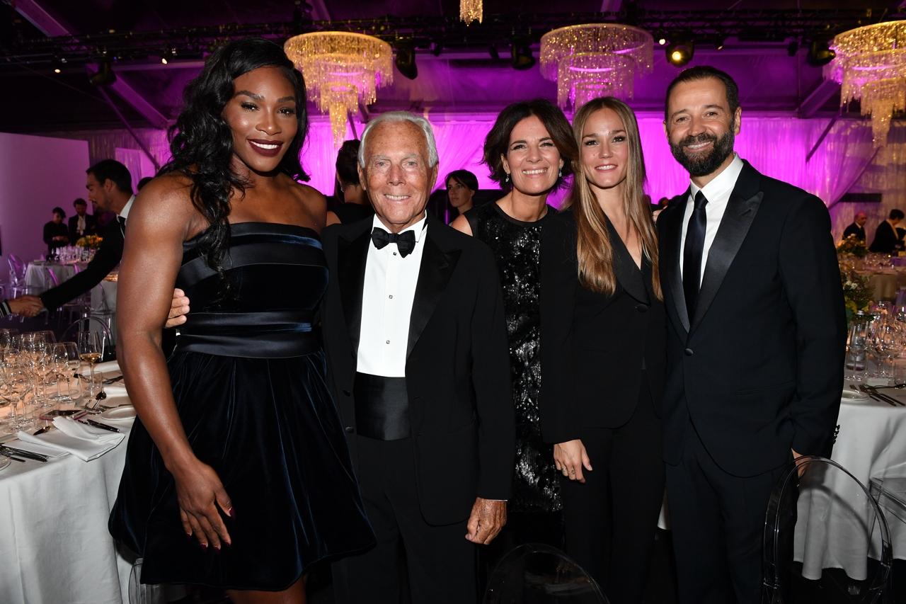 Michelle Hunziker, Flavia Pennetta, Serena Williams  sport e fascino a  Milano al gala della Novak Djokovic Foundation - Corriere.it 584767bd751
