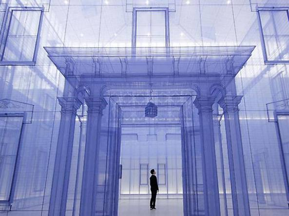 L'installazione «Home Within Home Within Home Within Home Within Home» dell'artista coreano Do Ho Suh (1962) esposta a gennaio al National Museum of Modern and Contemporary Art di Seul
