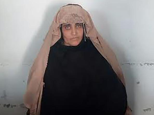 Sharbat Gula (foto Pakistan's Federal Investigation Agency /Afp)