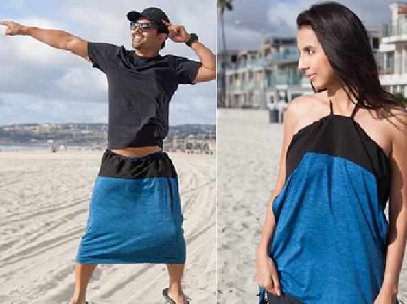 5536744e44512 The Undress  dagli Usa la borsa-spogliatoio per cambiarsi d abito ...
