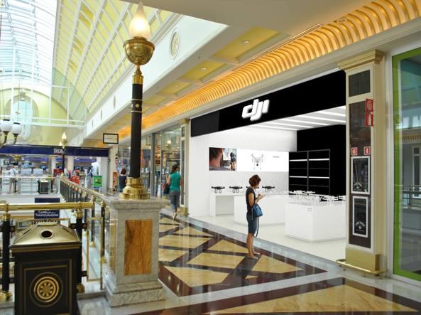 bbce95985dd5 Apre lo store Dji a Roma