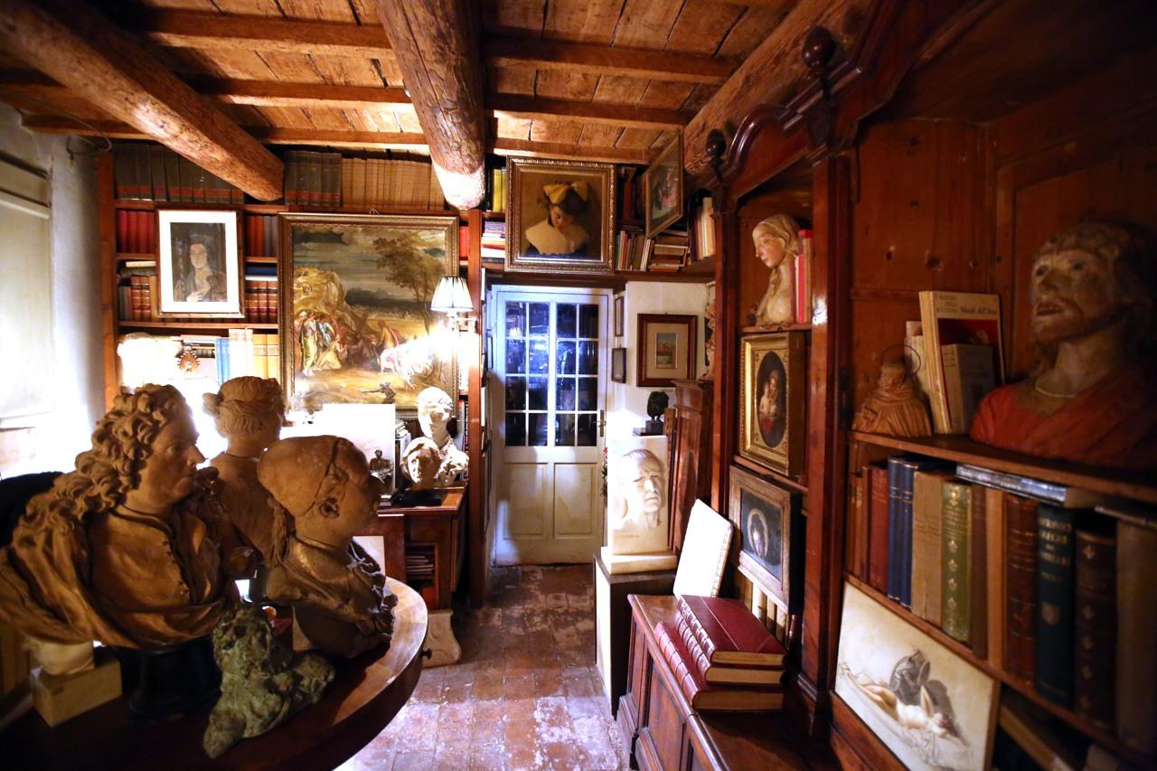 La casa museo di sgarbi a ro ferrarese for Casa corriere della sera