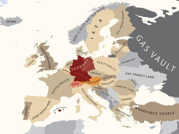 Cartina Mondo Ikea.L Italia La Mappa Degli Stereotipi Offensivi E Volgari Corriere It